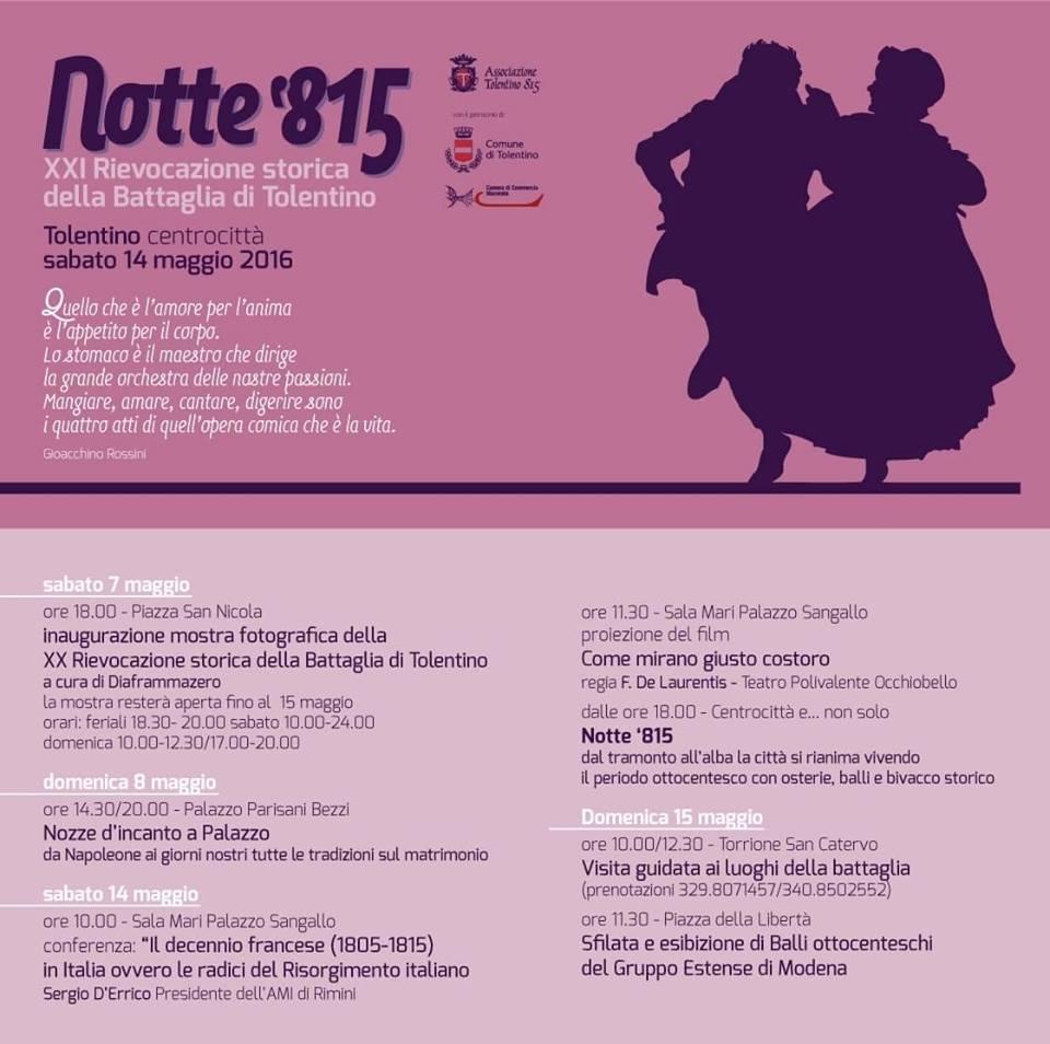 Notte 815 Tolentino